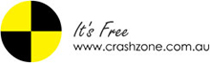 Crashzone It's Free Logo